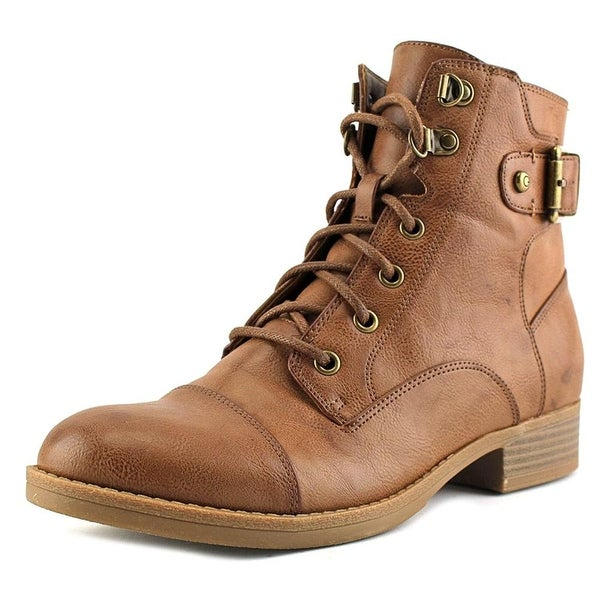GUESS Womens Fella Closed Toe Ankle Combat Boots - 9