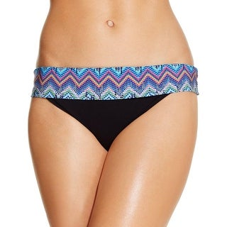 Profile by Gottex Womens Fold-Over Chevron Print Swim Bottom Separates - 12