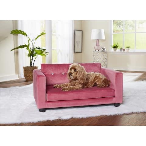 Enchanted Home Pet Crystal Pet Sofa