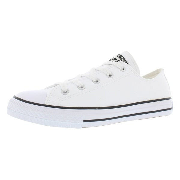 3f545e46e357fb Shop Converse Chuck Taylor All Star Ox Leather Boy s Shoes - Free ...