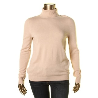 Private Label Womens Cashmere Knit Turtleneck Sweater - XL