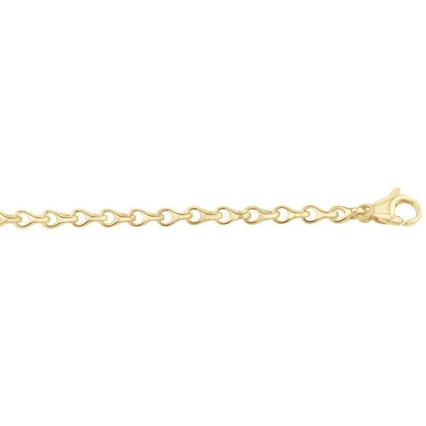 Men's 14k Gold 22 inch link chain