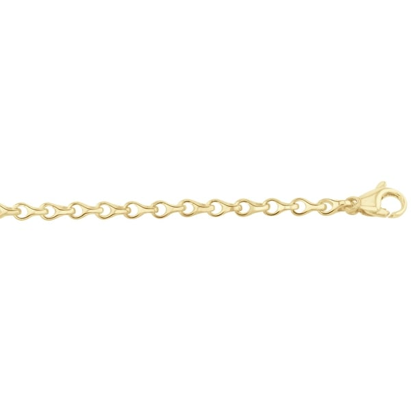 Men's 14k Gold 28 inch link chain