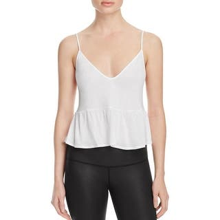 Alo Yoga Womens Tank Top V-Neck Peplum Hem|https://ak1.ostkcdn.com/images/products/is/images/direct/06f54f3a8d0ce7a8c92b297d191ad299c6a02d5a/Alo-Yoga-Womens-Tank-Top-V-Neck-Peplum-Hem.jpg?impolicy=medium