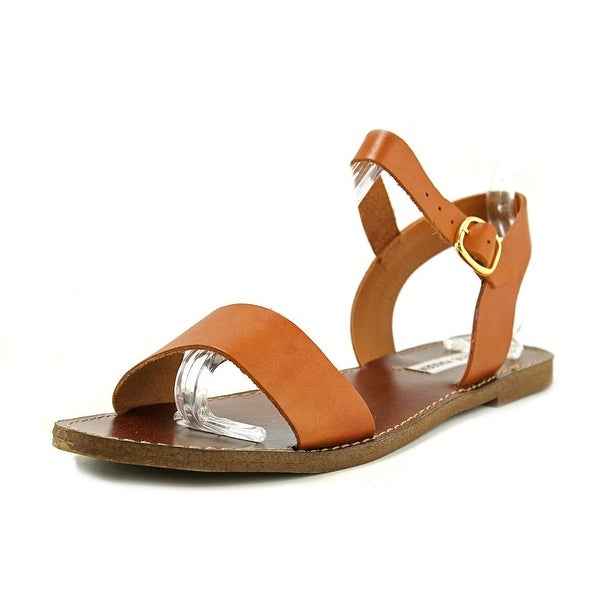 223ed73d7b9 Shop Steve Madden Donddi Women Open-Toe Leather Tan Slingback Sandal ...