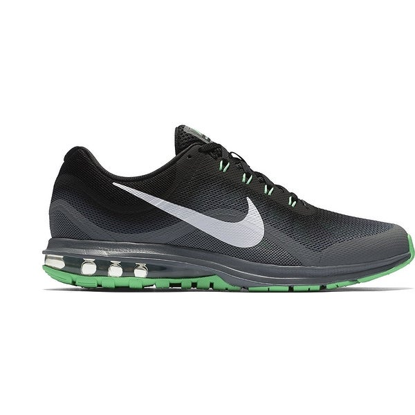 e938dd13dfb19 Men's Nike Air Max Dynasty 2 Running Shoe Black/White/Cool Grey/Electro  Green