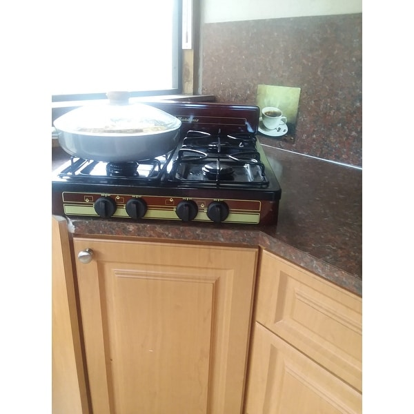 Koblenz 4 Burner Steel And Porcelain Outdoor Stove Top Free Shipping Today 11007614