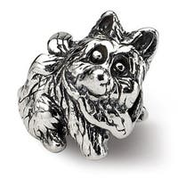 Sterling Silver Reflections Kids Dog Bead (4mm Diameter Hole)
