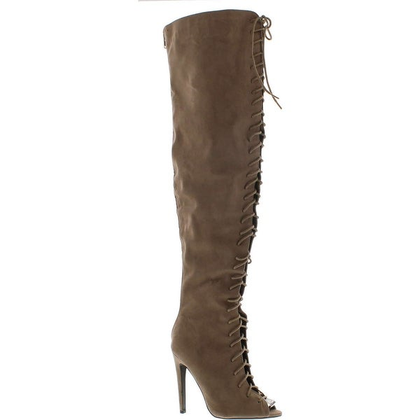 Qupid Women's Interest-87 Slouch Boot
