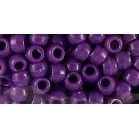 Opaque Purple - Pony Beads 6Mmx9mm 1;000/Pkg