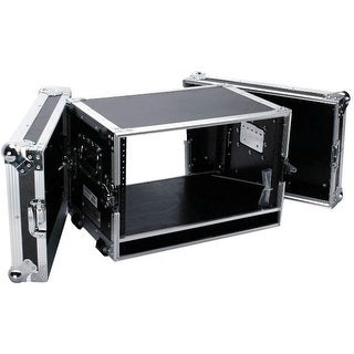 Fly Drive Case For 6U Space Standard Low Profile Dj 19-In Amplifier Or Effects Units Or Similarly Si