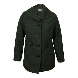 JM Collection Women's Single Breasted Coat