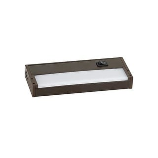 """Ambiance Lighting Systems 910000 Vivid 7.5"""" LED Under Cabinet Light 2700K (2 options available)"""