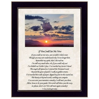 """Link to """"If You Can See Me Now"""" (Sunset) by Artisan Trendy Decor 4U, Ready to Hang Framed Print Similar Items in Art Prints"""