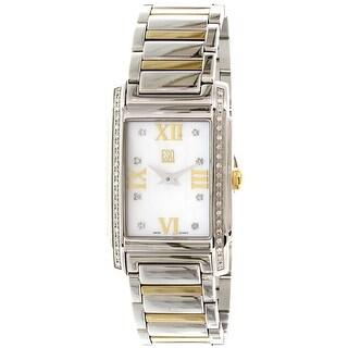 Esq Women's Kingston 07101258 Silver Stainless-Steel Swiss Quartz Fashion Watch