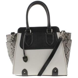 London Fog Womens Satchel Handbag Faux Leather - MEDIUM (2 options available)