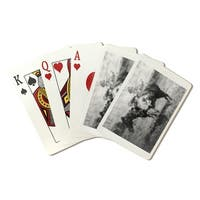 Theodore Roosevelt as Cowboy & Horse Vintage Photo (Poker Playing Cards Deck)