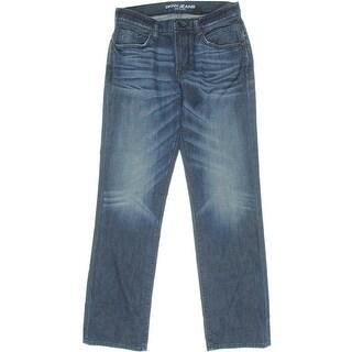 DKNY Jeans Mens Soho Relaxed Straight Leg Jeans