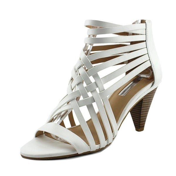 INC International Concepts Garoldd Bright White Sandals
