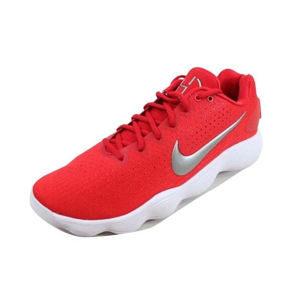 3b38dde69257 Nike Men  x27 s Hyperdunk 2017 Low TB University Red Metallic Silver 897807