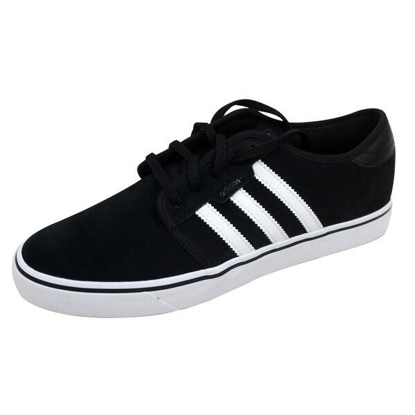 Adidas Men's Seeley Black/White-Black A8532 Size 8