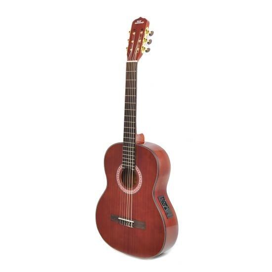 Left-Handed 6-String Electric Acoustic Guitar, Full Scale, Accessory Kit Included