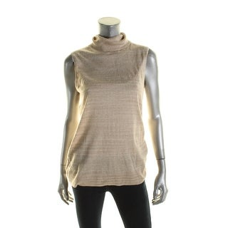 Calvin Klein Womens Tank Top Sweater Sleeveless Knit - M