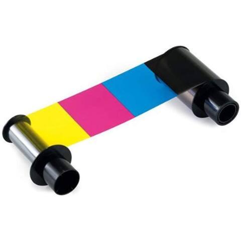 FARGO 84052 Fargo Color Resin Ribbon - Dye Sublimation - 500 Page - YMCKK