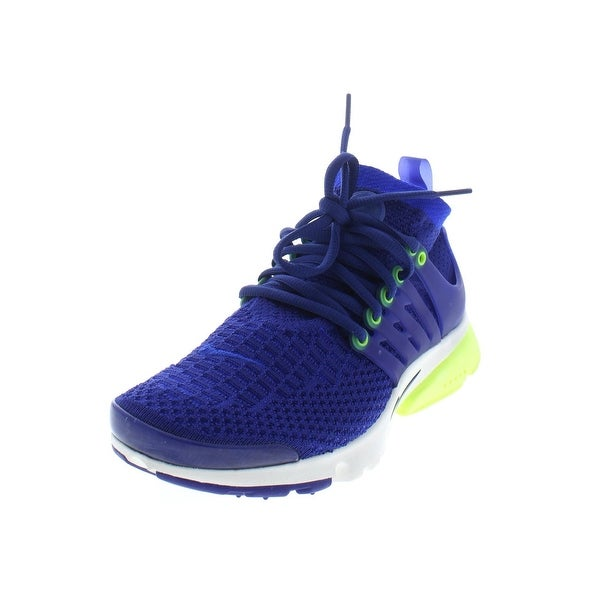 Shop Nike Womens Air Presto Flyknit Ultra Sneakers High Top Lace Up ... 08a5e3d62