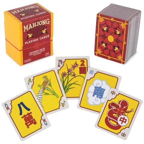 "Chinese Mahjong Playing Cards - 2.75"" x 2.25"""