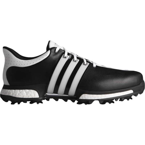 Adidas Men's Tour 360 Boost Core Black/FTWR White/Core Black Golf Shoes Q44821/Q44829