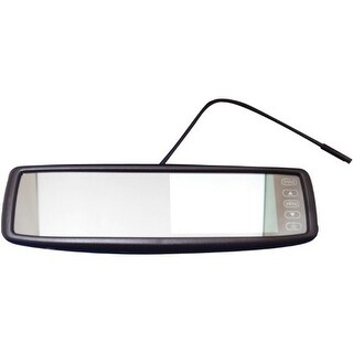 Crimestopper CSPSV9153B 4.3 OEM Replacement-Style Rear View Mirror Monitor