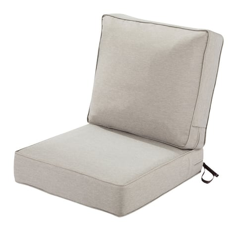 Classic Accessories Montlake FadeSafe Patio Lounge Chair Cushion Set