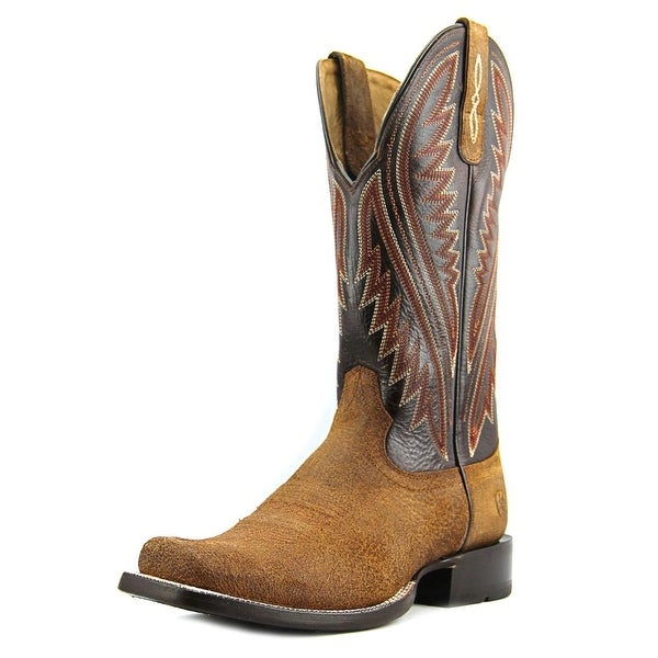 Ariat Hoolihan Square Toe Leather Western Boot