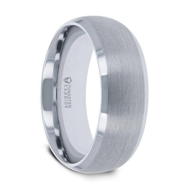 ffc5317d18082 Shop Thorsten POLARIS   Tungsten Rings for Men   Tungsten   Domed ...