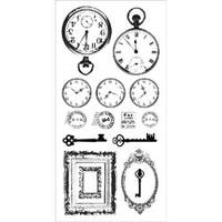 """Antiques - Clear Stickers 5.75""""X12"""""""