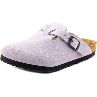 Birkenstock Nashua Toddler N Open Toe Synthetic Gray Slides Sandal