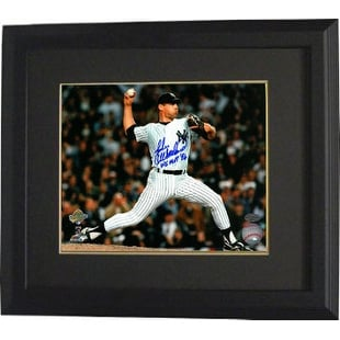 0023a5257cb Shop John Wetteland signed New York Yankees 8x10 Photo Custom Framed WS MVP  96 Horizontal pitching - Free Shipping Today - Overstock - 19866239