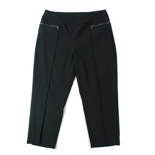 Style & Co. NEW Black Women's Size Medium M Capris Cropped Pants