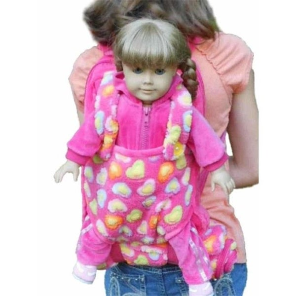 933687d27c67 Shop Childs Backpack with 18 in. Doll Carrier   Sleeping Bag