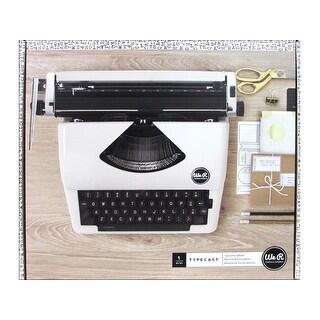 We R Memory Typecast Typewriter White