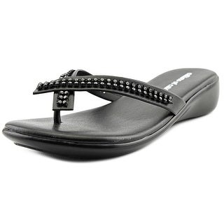 Callisto Roxxie Youth Open Toe Leather Thong Sandal
