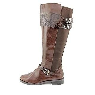 Aerosoles Womens Bridel Suite Riding Boots Faux Leather Buckle