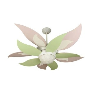 """Craftmade Bloom Bloom 52"""" Ceiling Fan - Remote and Light Kit Included - Requires Blade Selection - White"""