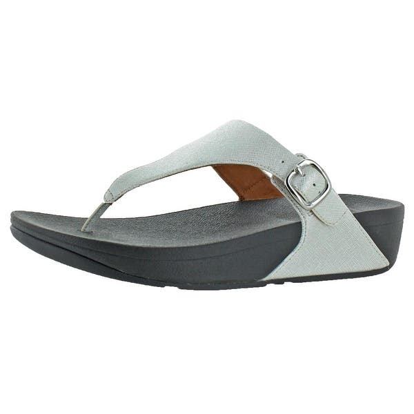 e7500a14fddbe Shop Fitflop Womens The Skinny Deluxe Thong Sandals Leather ...