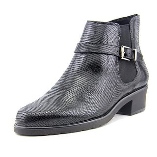 Walking Cradles Clive Round Toe Patent Leather Ankle Boot