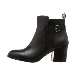 LAUREN by Ralph Lauren Womens Genna Leather Closed Toe Ankle Fashion Boots