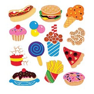 Junk Food - Sandylion Classpak Stickers 3/Pkg