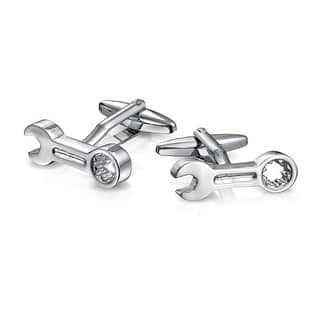 Bling Jewelry Stainless Steel Plated Mens Polished Combination Wrench Cufflinks Set|https://ak1.ostkcdn.com/images/products/is/images/direct/070dd4464ea8bc7c048165d9c52ce54b1e31849f/Bling-Jewelry-Stainless-Steel-Plated-Mens-Polished-Combination-Wrench-Cufflinks-Set.jpg?impolicy=medium