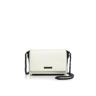 Kendall + Kylie Womens Adley Crossbody Handbag Leather Colorblock - small